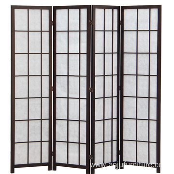 Screen separated living room simple folding screen modern simple folding mobile bedroom fashionable Chinese solid wood screens